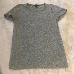 J. Crew side pocket green T-shirt